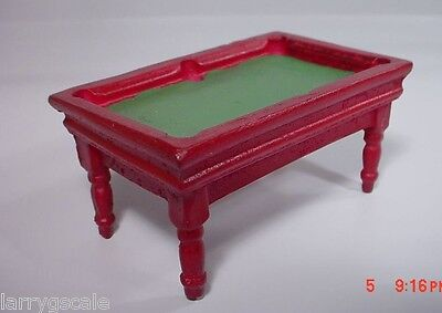 Pool Table Custom Resin Cast 1/24 Scale G Scale