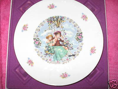 Royal Doulton,Valentine's Day-Plate-1980