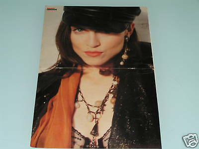 MADONNA~BEE GEES - Huge, 1980s PINUP MAGAZINE POSTER