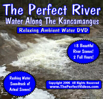 The Perfect River DVD Relaxing Ambient Video Relaxing Rustic Moving Water Scenes