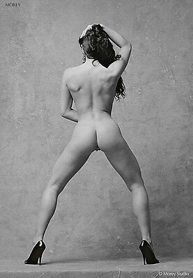 Raven 80855.15 Black & White Fine Art Nude, hand-signed photo by Morey