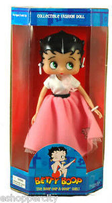 "Betty Boop 10"" Mini Doll w/ Fab 50's Poodle Skirt, New Gift Cartoon TV Cartoon"