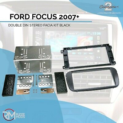 FORD FOCUS 2007 on DOUBLE DIN STEREO FITTING KIT BLACK