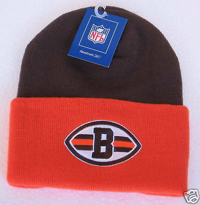 NFL Cleveland Browns Multi-Color Cuffed Knit Hat By Reebok