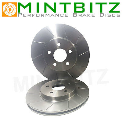 Audi A3 Quattro 8P S3 3.2 7/03- Grooved Rear Brake Discs