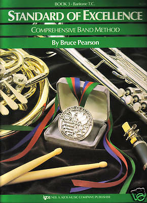 Standard of Excellence - BARITONE T.C. - Book 3