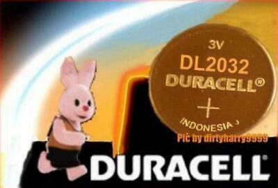 ! 10x DURACELL CR2032 DR2032 Lithium Batterien CR 2032  ø20x3,2mm