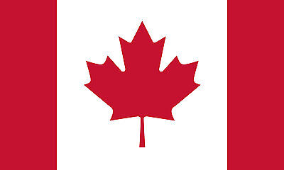 4x6 4 x 6 FT Strong Canada Canadian SolarMax Nylon Flag