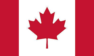 5x8 5 x 8 FT Strong Canada Canadian SolarMax Nylon Flag
