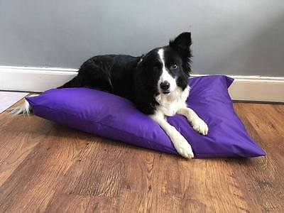 WATERPROOF DOG  BED COVER  lots sizes inc cage sizes  4oz waterproof no inner