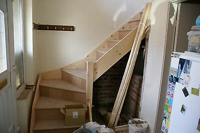 Made to measure 3 kite winder staircase kit (L Shape)