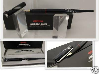 Rotring Millennium Limited Edition  Fountain Pen  Medium Pt  New In Box 1999