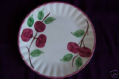 Blue Ridge Southern Potteries Crab Apple luncheon plate