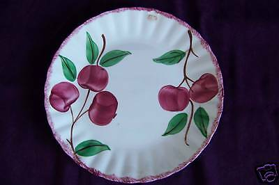 Blue Ridge Southern Potteries Crab Apple dinner plate