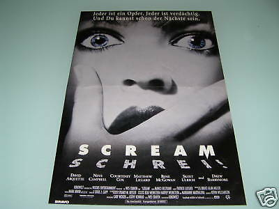 Spice Girls / Emma ~ Scream Movie Ad PINUP 90s POSTER