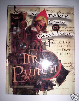 Mr. Punch Gaiman Mac Keam Vg Graphics 1994