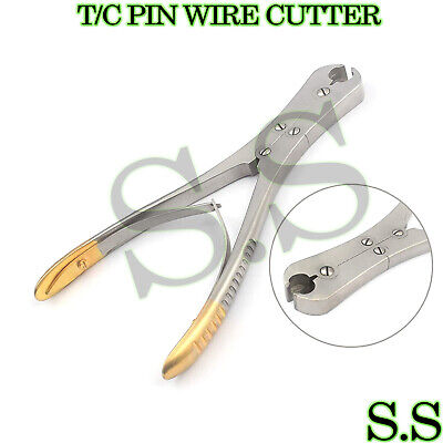 """Tc Cns Front And Side Pin Wire Cutter 7"""" Orthopedic"""
