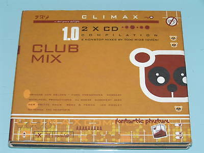 CLIMAX CLUB MIX 1.0 COMPILATION House, Techno 2X CD 97
