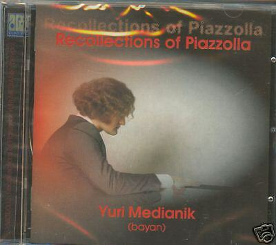 MEDIANIK bayan Recollections of Piazzolla CD RUS NEW