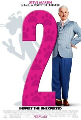 THE PINK PANTHER 2 MOVIE POSTER 1 Sided ORIGINAL 27x40