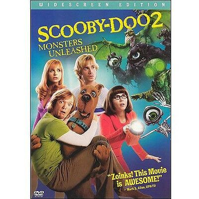 Scooby Doo 2: Monsters Unleashed (DVD, 2004, WS) - New