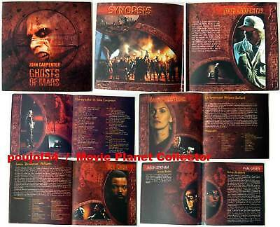 GHOSTS OF MARS Henstridge Cube Statham FRENCH PRESSBOOK