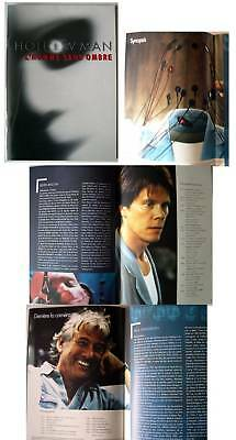 HOLLOW MAN - Bacon - Shue - Verhoeven  FRENCH PRESSBOOK