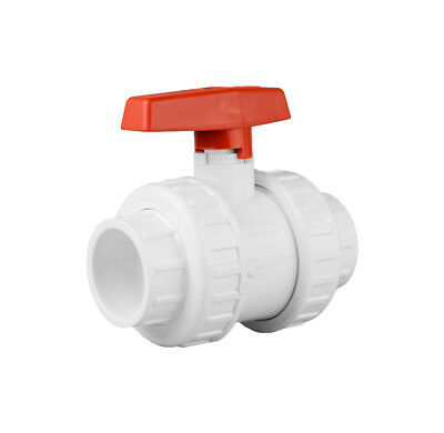 "Swimming Pool Pipework - 1.5"" Double Union Ball Valve"