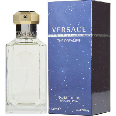 THE DREAMER 100ml EAU DE TOILETTE SPRAY FOR MEN BY VERSACE ----- NEW EDT PERFUME