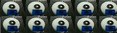 10 NEW Original JFJ Easy Pro Supplies White BUFFING PAD