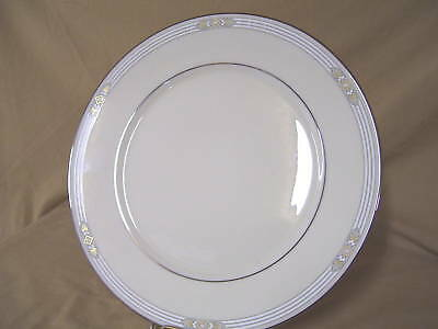 """Lenox China Silver Springs Dinner Plate New 10 3/4"""""""