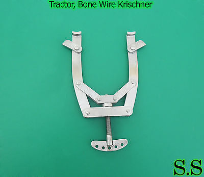 New Tractor, Bone Wire, Kirschner, Large. Orthopedic