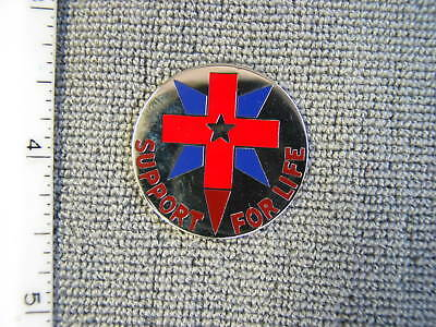 U. S. Army issue 32nd Medical Battalion Crest ,by Supply Room, new never issued