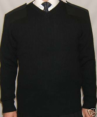 RW1331 RTY Workwear Mens Security Style Durable V-Neck Sweater Sizes S-3XL