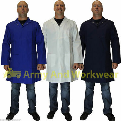 Food Industry Warehouse Catering Butchers Lab Coat Work Coverall Hygiene Medical