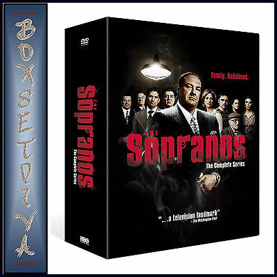 Sopranos - Entire Collection Series 1 2 3 4 5 & 6 Box Set **brand New Dvd**