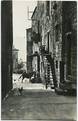 CORSE SARTENE Vieille Rue carte photo Tomasi Ane
