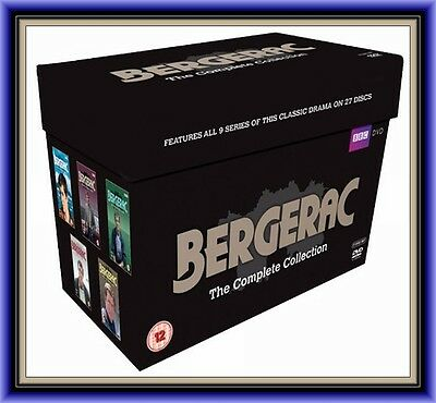 Bergerac - Complete Collection Series 1 2 3 4 5 6 7 8 & 9 **brand New Dvd Boxset