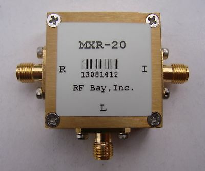 350-2000MHz Level 7 Frequency Mixer, MXR-20, New, SMA