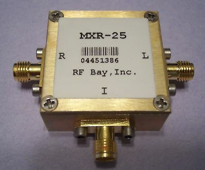 1400-2500MHz Level 7 Frequency Mixer, MXR-25, New, SMA