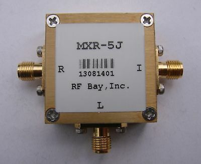 2-500MHz Level 10 Frequency Mixer, MXR-5J, New, SMA