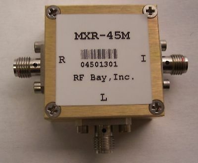 1500-4500MHz Level 13 Frequency Mixer, MXR-45M, New,SMA
