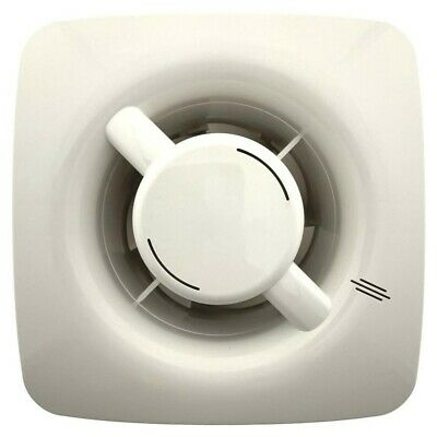 """Greenwood Airvac AXS100 Extractor Fan Bathroom/ Toilet (NO Timer) Axial 4"""" 100mm"""