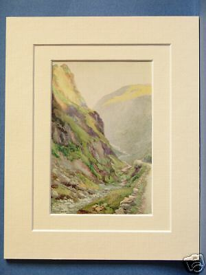 Keswick Honister Pass Slate The Lake District Cumbria Ready to Hang Canvas X1405