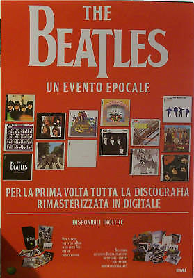 "Beatles : Cartonato Pubb.""discography / Box - Remaster"""