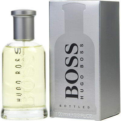 BOSS BOTTLED 100ml EDT SPRAY BY HUGO BOSS ------------------ NEW PERFUME FOR MEN