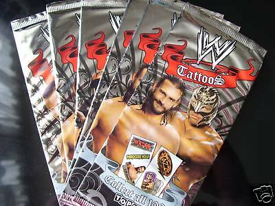 Wwe Wrestling Tattoos 20 Sealed Packs Cena Hardy Etc