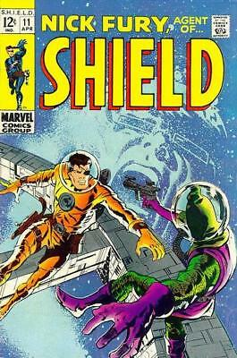 NICK FURY, AGENT OF SHIELD #11 Fine, S.H.I.E.L.D. Barry Smith c, Marvel 1969