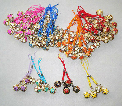 Wholesale100pcs Chinese Traditional Enamel Unique Phone Charm Handbag Charms