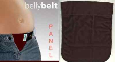 Maternity Pregnancy Belly Belt PANEL Rare Burgandy Wine